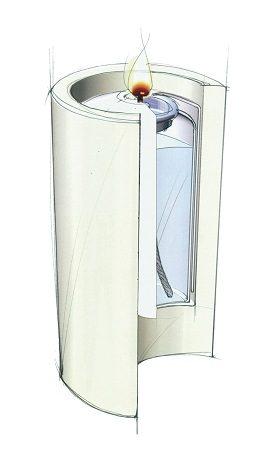 Flexilight Pillar stompkaarsen